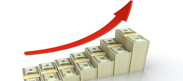 money-stack-arrow-up