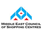 Middle East Council of Shopping Centers logo in white background