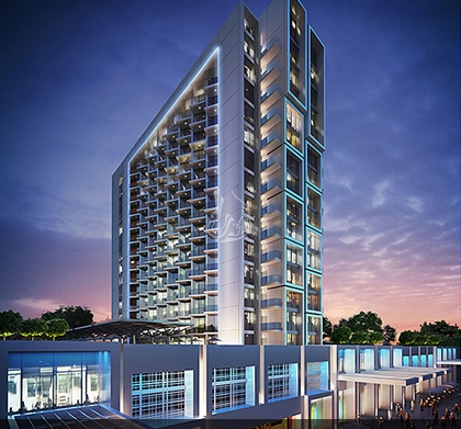 Commercial Hotel/Hotel Apartments, for Sale in United Arab Emirates, Dubai, Akoya Oxygen